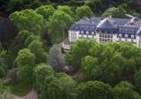 Parkhotel Kurhaus in Bad Kreuznach Luftaufnahme