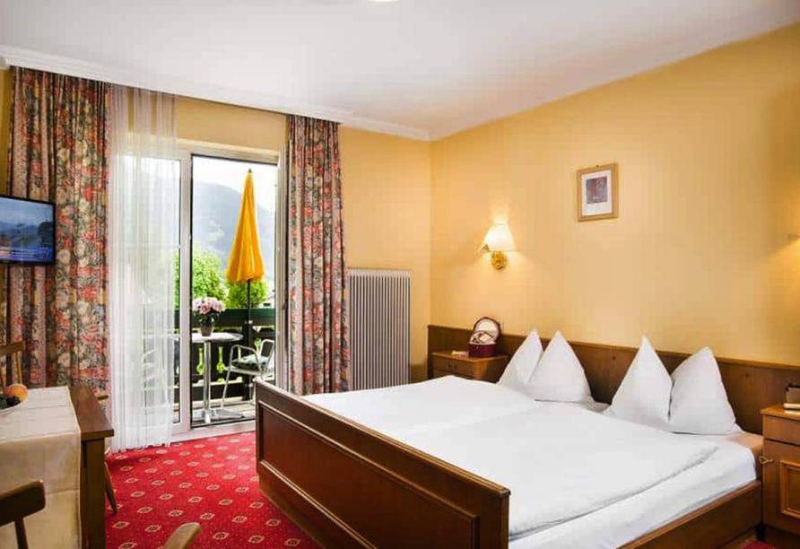 Landhotel Steindlwirt in Dorfgastein im Salzburger Land in Österreich, Zimmerbeispiel