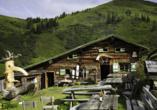 Landhotel Steindlwirt in Dorfgastein im Salzburger Land in Österreich, bewirtete Almhütte
