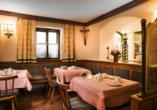 Landhotel Steindlwirt in Dorfgastein im Salzburger Land in Österreich, Restaurant