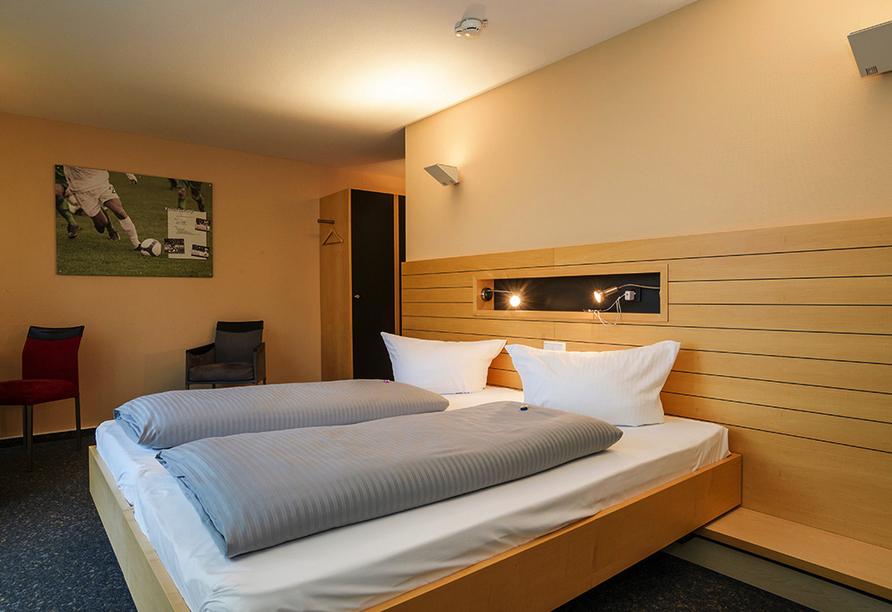 Rundreise Bodensee, Titisee, Elsass, Zimmerbeispiel vom JUFA Hotel Wangen - Sport Resort