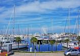Hotel Naica in Rimini, Hafen