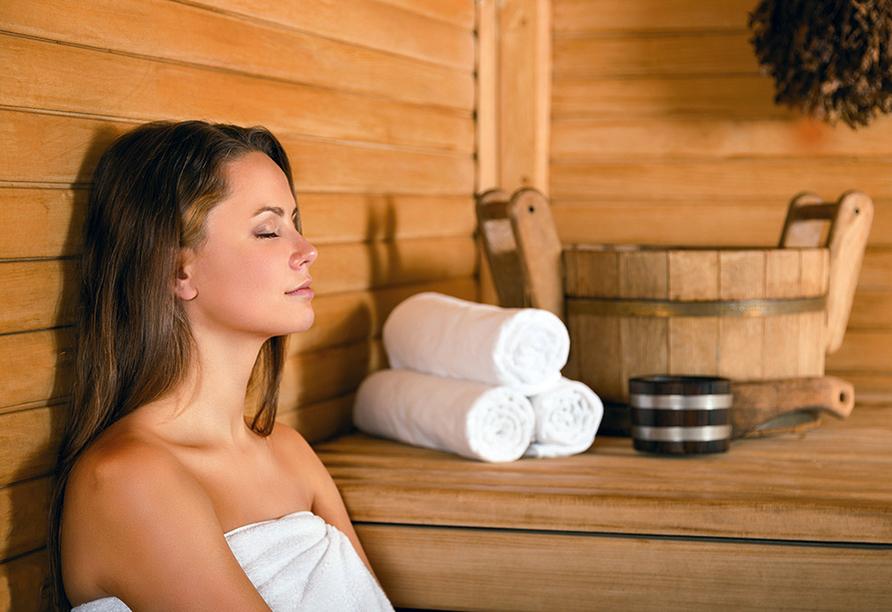 Wellness Extol Inn Hotel in Prag in Tschechien, Sauna