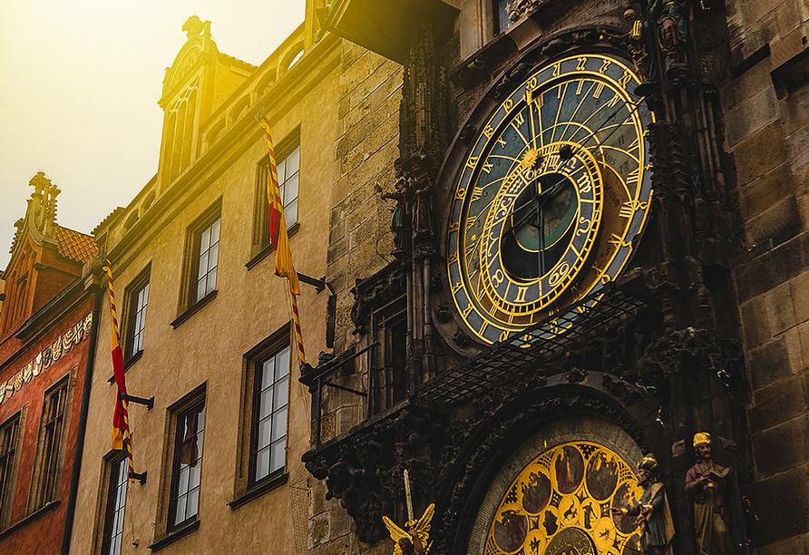 Wellness Extol Inn Hotel in Prag in Tschechien, Astronomische Uhr