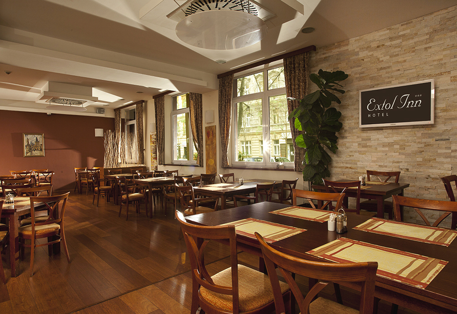 Wellness Extol Inn Hotel in Prag in Tschechien, Restaurant