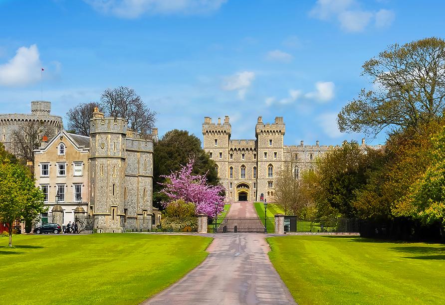Die Höhepunkte Südenglands, Windsor Castle