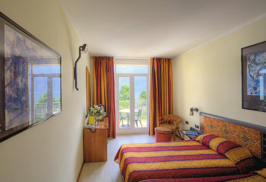 Parc Hotel Cristina in Limone sul Garda, Zimmerbeispiel Standard
