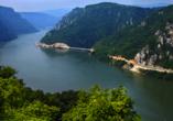 MS Prinzessin Isabella, Eisernes Tor zwischen Serbien und Rumänien