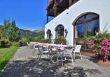 Hotel Hintermoos, Maria Alm, Terrasse