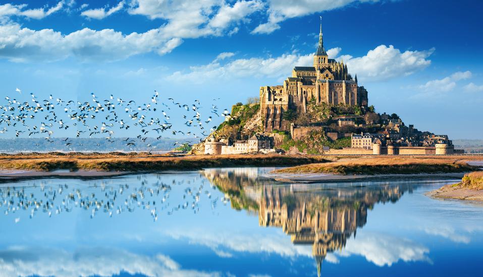 Rundreise Normandie & Bretagne, Felseninsel Mont-Saint-Michel