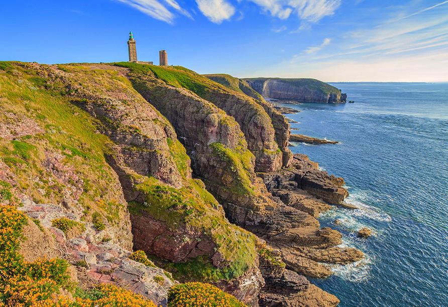 Rundreise Normandie & Bretagne, Cap Frehel