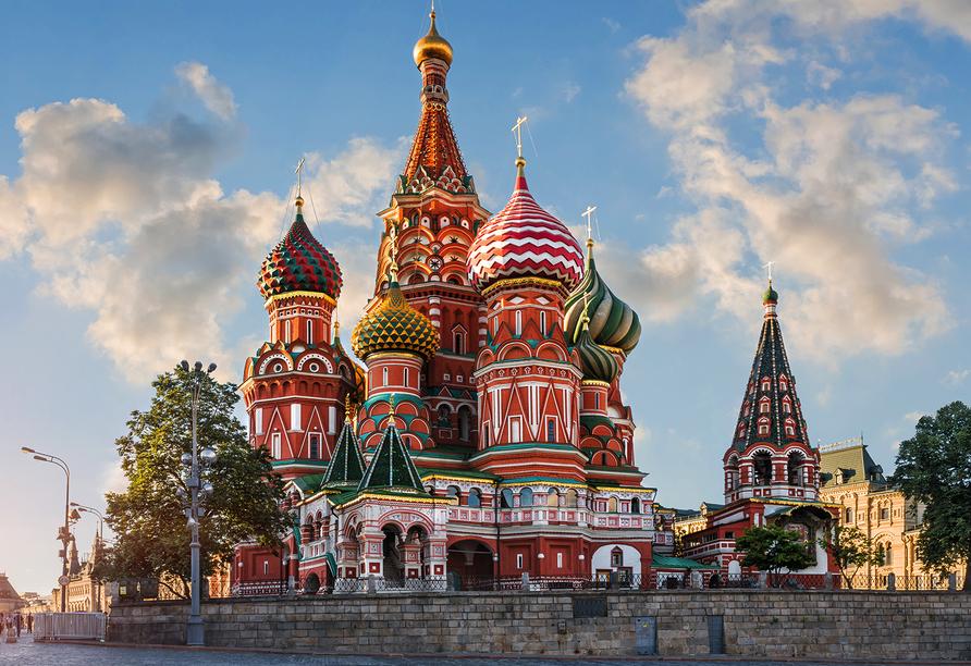 MS Wolga Star, Kreml in Moskau