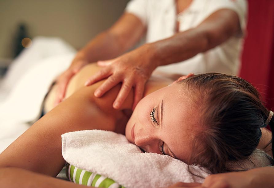 Van der Valk Landhotel in Spornitz, Massage