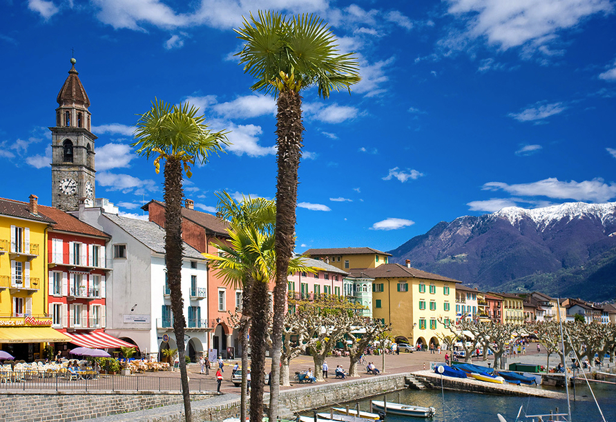 Hotel Rovere in Losone, Ascona
