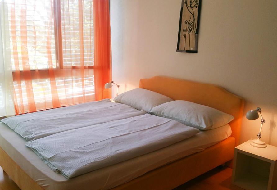 Hotel Rovere in Losone, Zimmerbeispiel
