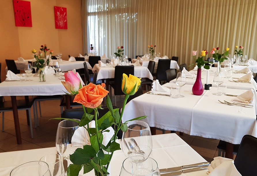 Hotel Rovere in Losone, Restaurant