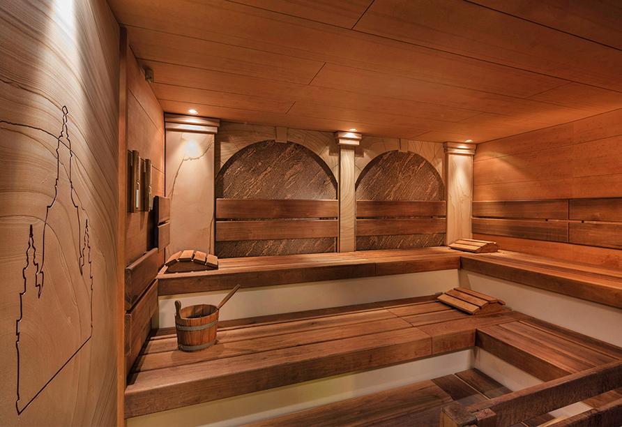 Hilton Hotel Dresden, Finnische Sauna