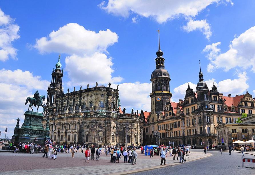 Hilton Hotel Dresden, Residenzschloss