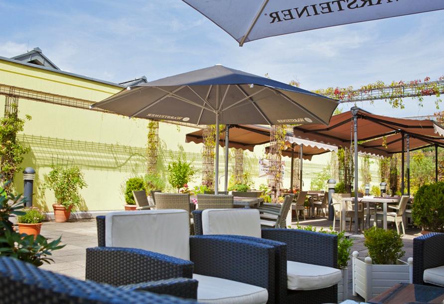 President Hotel Bonn, Terrasse