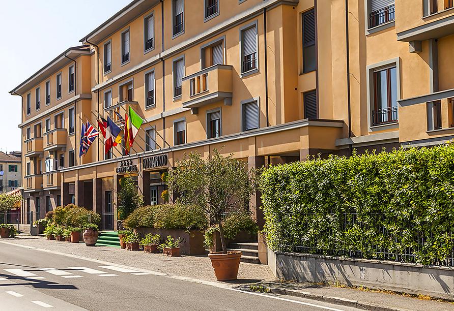 Grand Hotel Bonanno in Pisa, Hotelansicht
