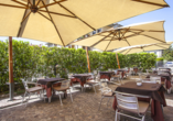 Grand Hotel Bonanno in Pisa, Terrasse