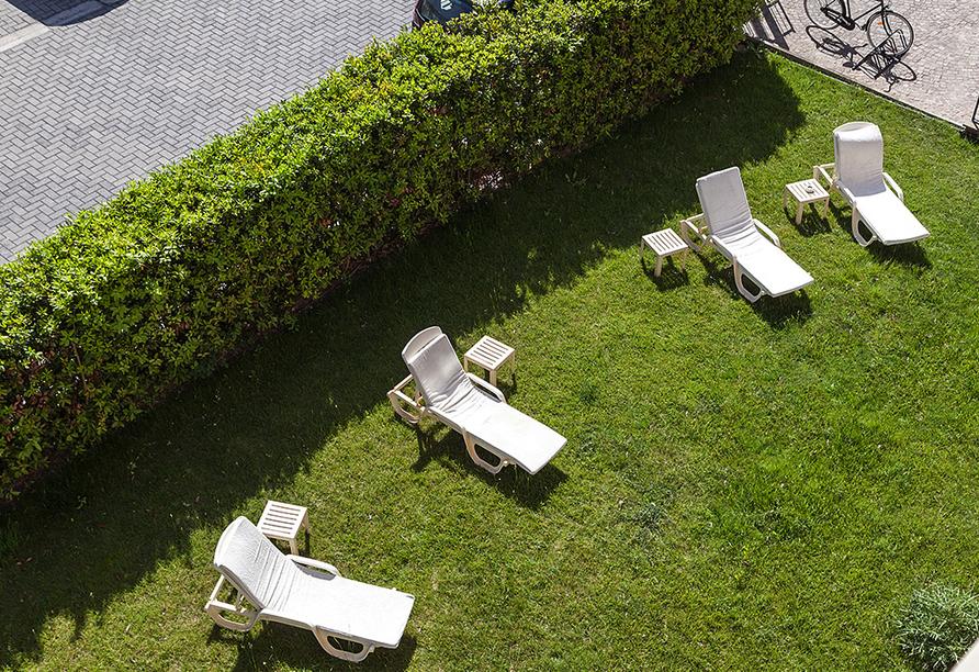 Grand Hotel Bonanno in Pisa, Garten