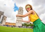 Grand Hotel Bonanno in Pisa, Schiefer Turm von Pisa