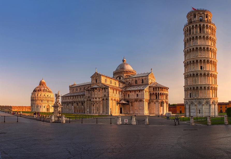 Grand Hotel Bonanno in Pisa, Piazza dei Miracoli