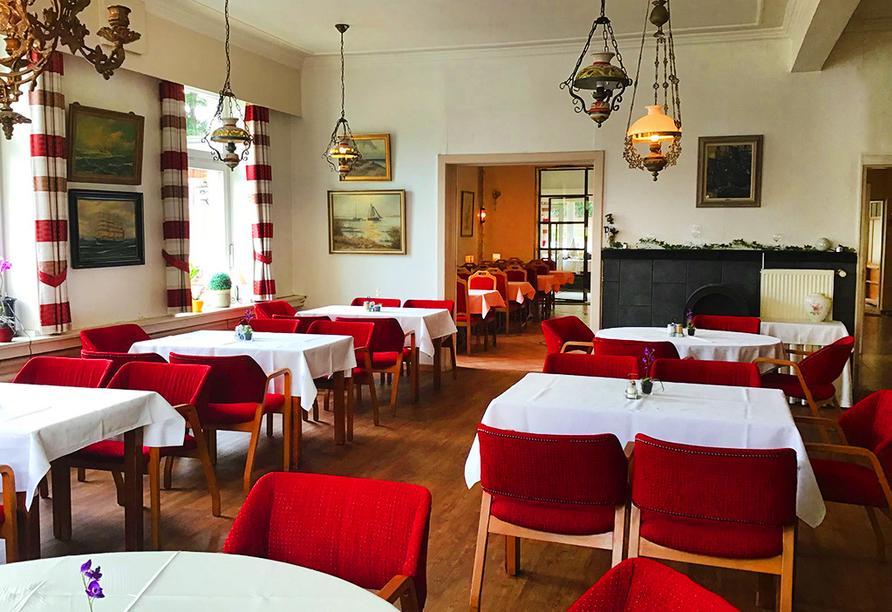 Hotel Hoffmanns Holsteinisches Haus in Friedrichstadt, Restaurant