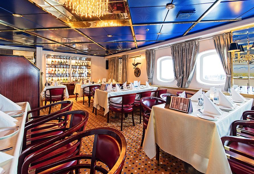 MS Vesterålen, Restaurant