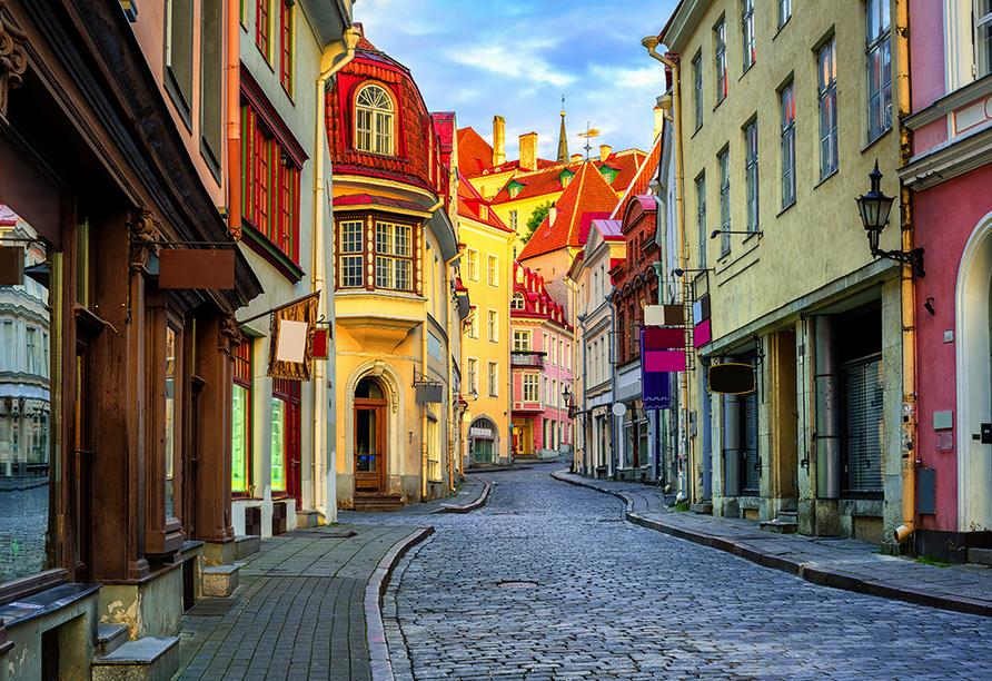 MSC Musica, Altstadt von Tallinn