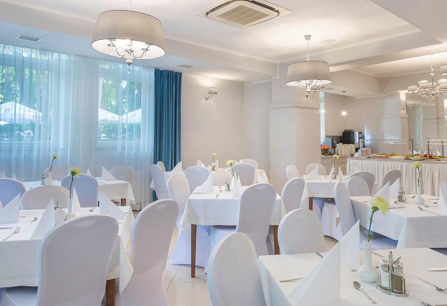 Kaiser`s Garten Hotel in Swinemünde, Restaurant