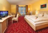 Hotel Waldhaus am See, Beispiel Doppelzimmer
