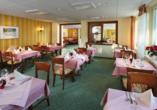 Hotel Waldhaus am See, Restaurant