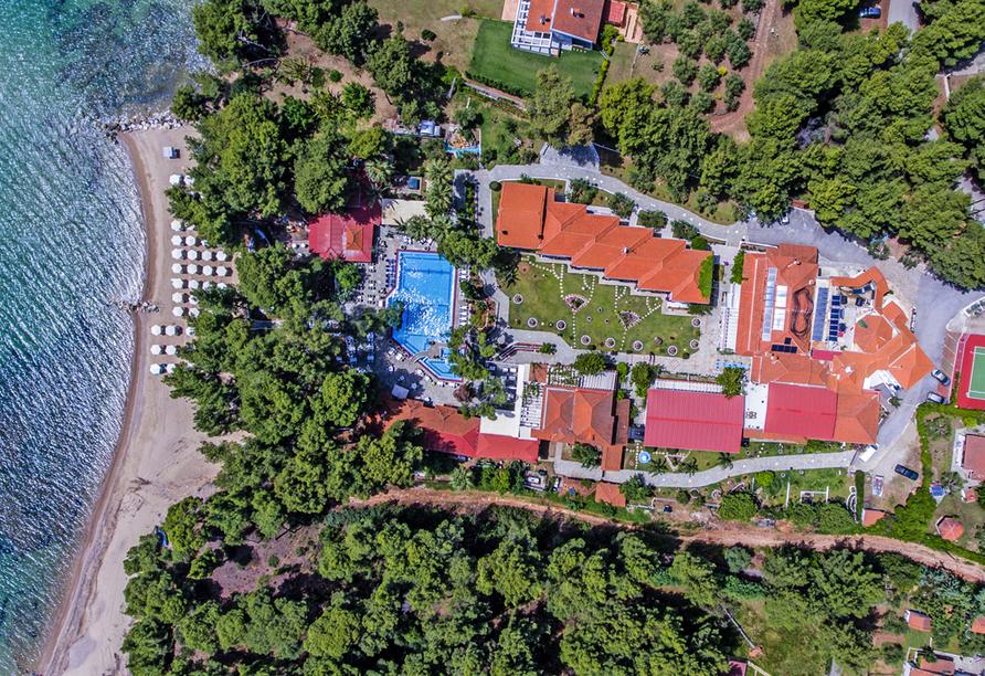 Entdeckerreise Chalkidiki, Hotel Porfi Beach