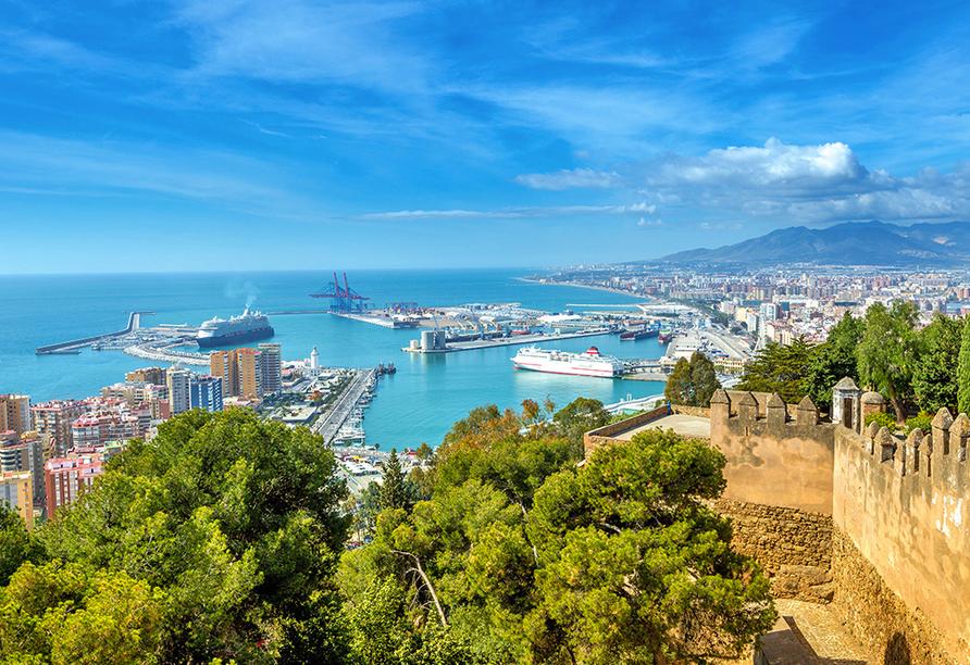 Hotel Monarque Fuengirola Park, Hafen von Málaga
