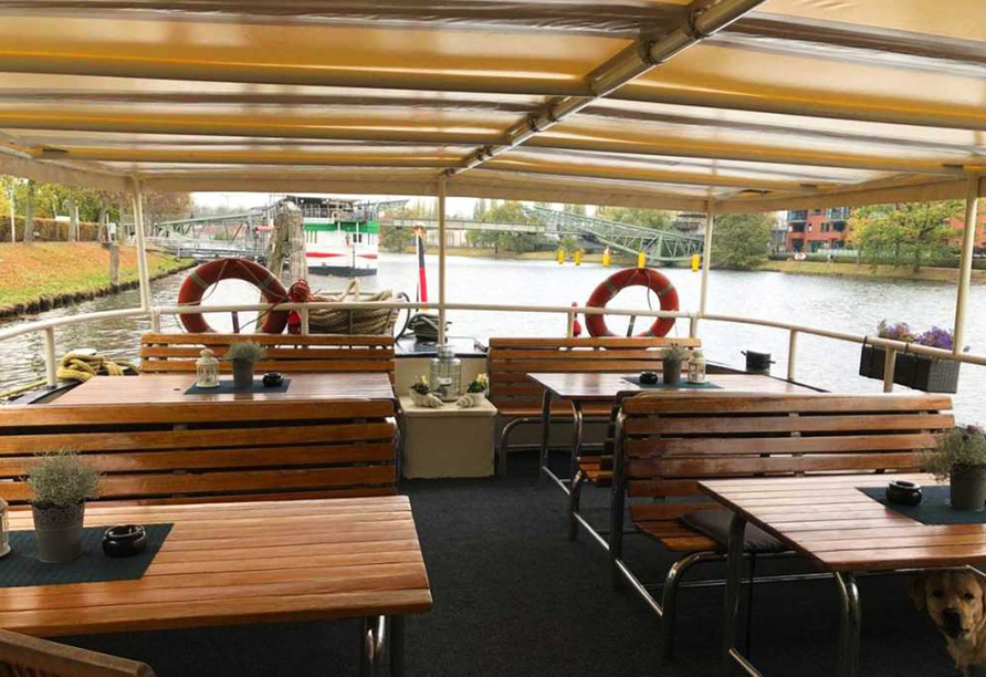 MS Marylou, Sonnendeck
