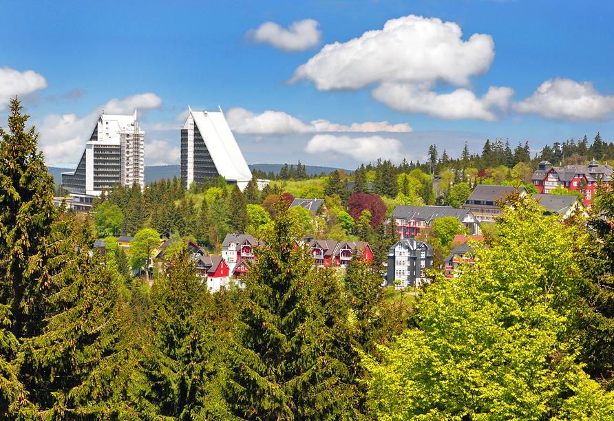 AHORN Panorama Hotel Oberhof, Außenansicht Thüringer Wald