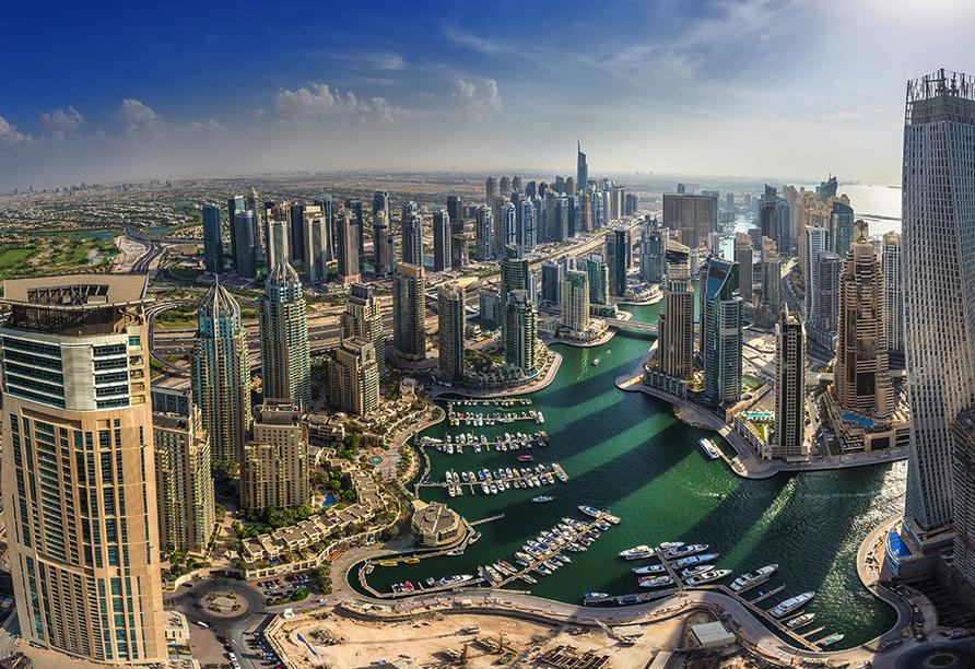 Entdeckerreise Dubai und Abu Dhabi, Skyline Dubai