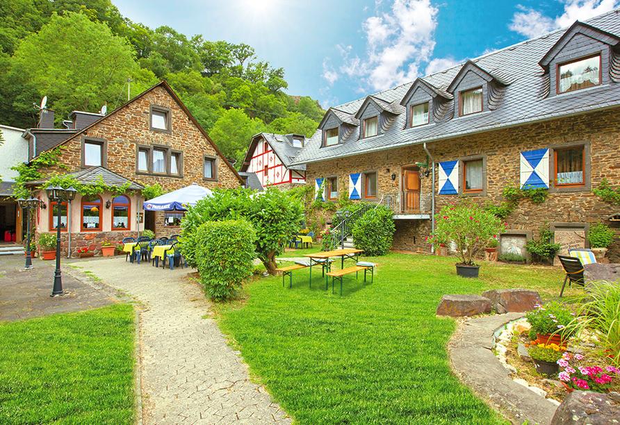 Mühlen Hotel Konschake in Burgen an der Mosel, Außenansicht
