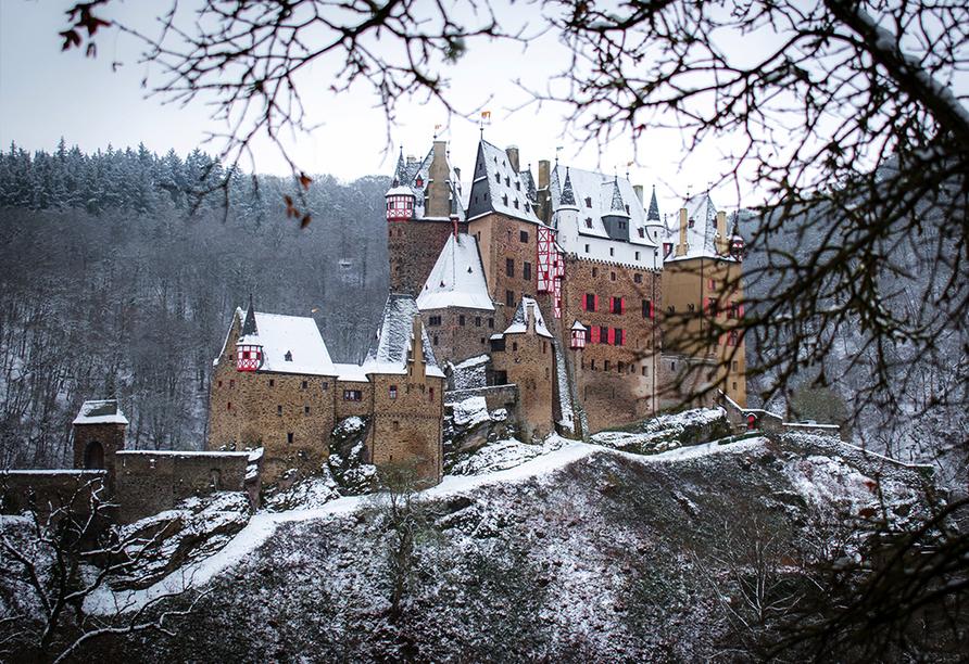 Mühlen Hotel Konschake in Burgen an der Mosel, Burg Eltz
