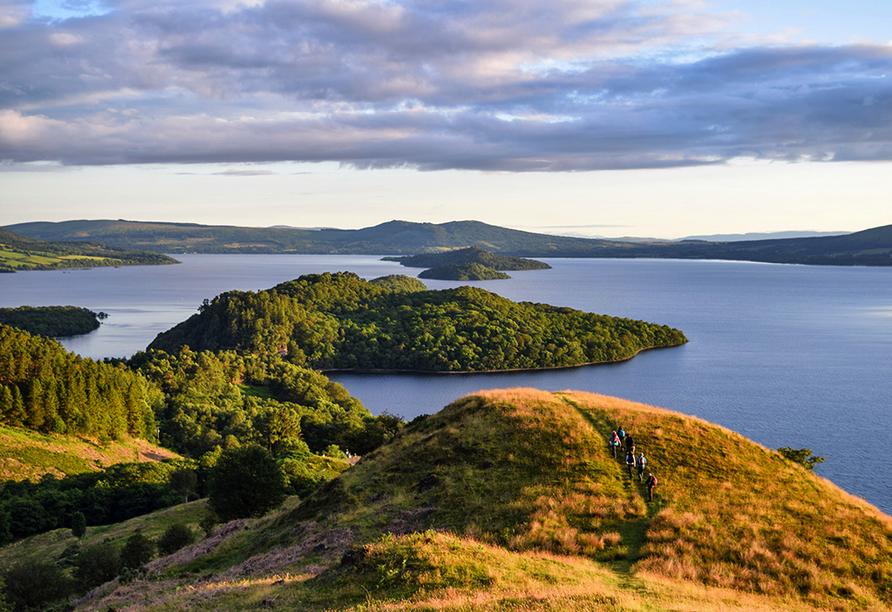 Kurzreise Schottland, Loch Lomond