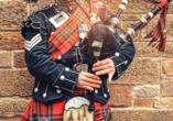 Kurzreise Schottland, Dudelsack