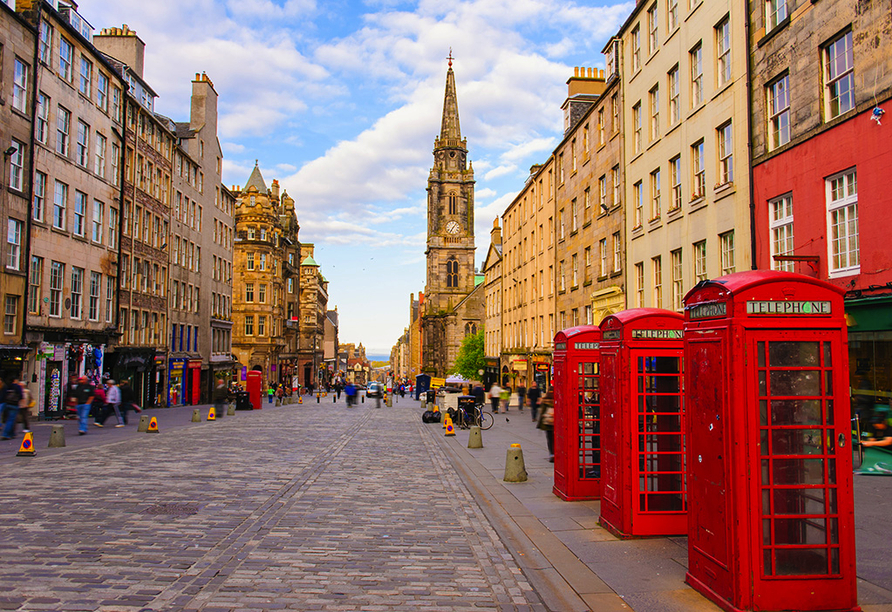 Kurzreise Schottland, Royal Mile