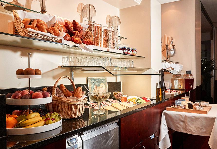 Parkhotel Schwert in Weesen, Frühstücksbuffet