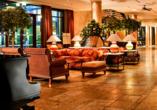 Hotel Elbflorenz in Dresden, Lobby