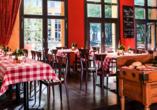 Hotel Elbflorenz in Dresden, Restaurant