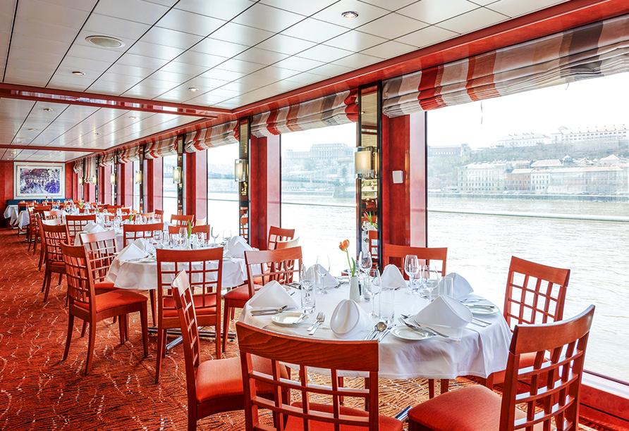 MS Belvedere, Restaurant