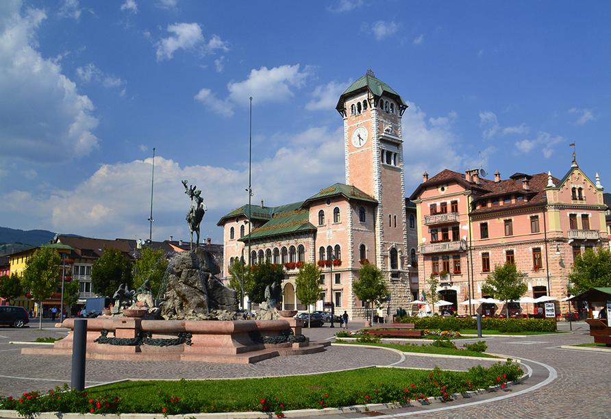 Linta Hotel Wellness & Spa in Asiago Trentino-Südtirol, Asiago Stadtzentrum