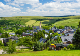 Best Western AHORN Hotel Oberwiesenthal, Ausblick über Oberwiesenthal